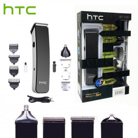 Htc  AT-1201 Tondeuse - Kit De Rasage 5 En 1 Multi-Usage Rechargeable