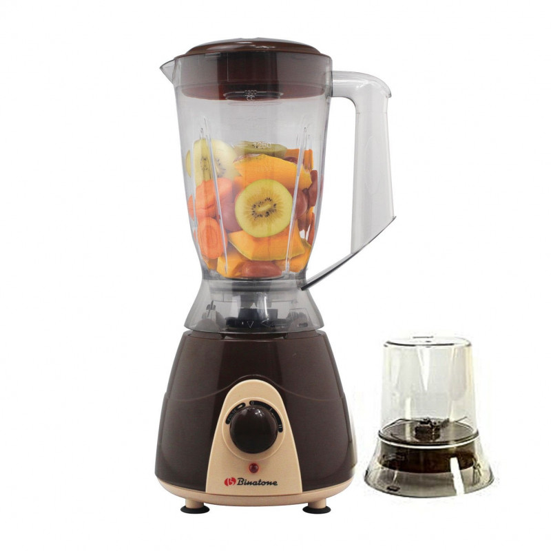 Mixeur Binatone - Blender BLG-402C - 350 W - 1.5 L - Marron