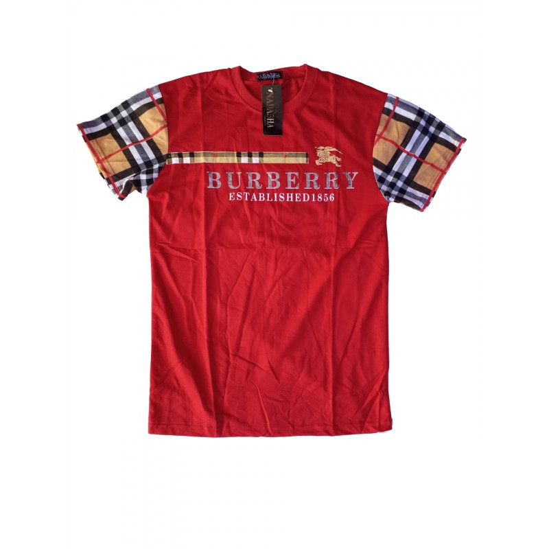 T-shirt burberry established 1856