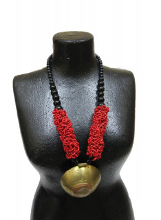 Collier perle africain
