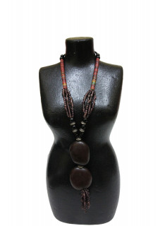 Collier perle style africain