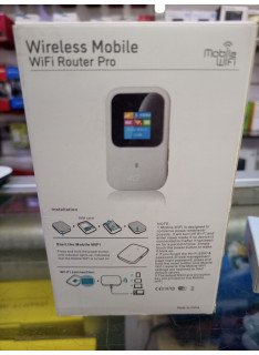 Wireless Mobile WiFi Router Pro LTE CAT4-up to 150Mbps